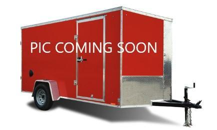 2022 Cargo Express 7x12 Double Rear Door Enclosed Trailer