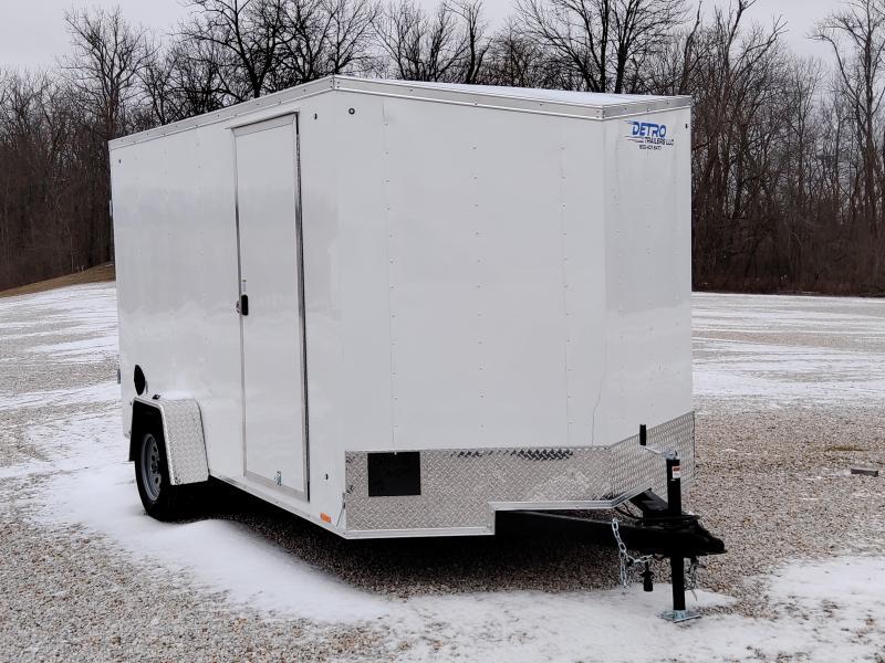 2022 Cargo Express 7x12 Double Rear Door Enclosed Trailer