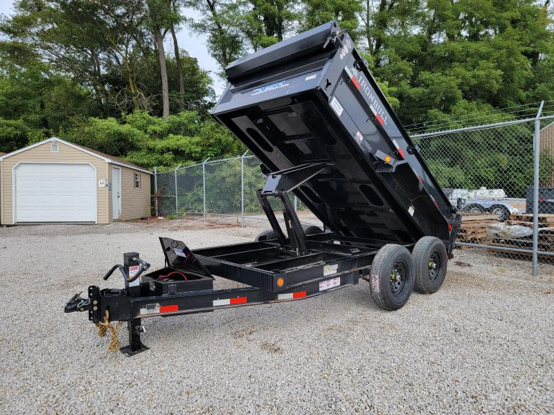 2022 Norstar Ironbull 72x12 14K Scissor Dump Trailer