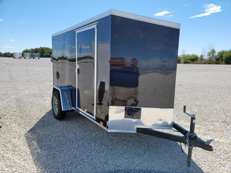 2022 Cargo Express 5x10 Rear Ramp Door Enclosed Cargo Trailer