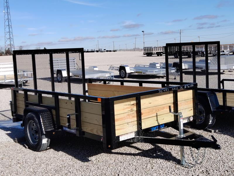 2021 Sure-Trac 6x10 Tube Top 3K Three Board Trailer