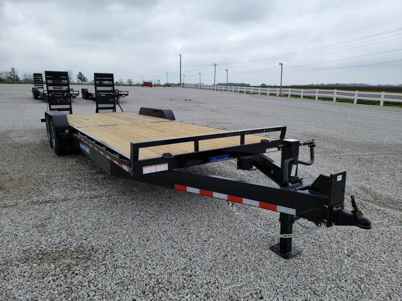 2021 Sure-Trac 7x24(22+2) 16K Equipment Trailer