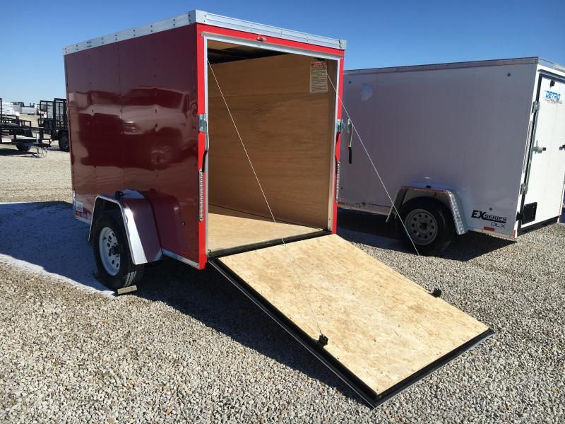 2020 United 5X8 Enclosed Ramp Door SA Trailer