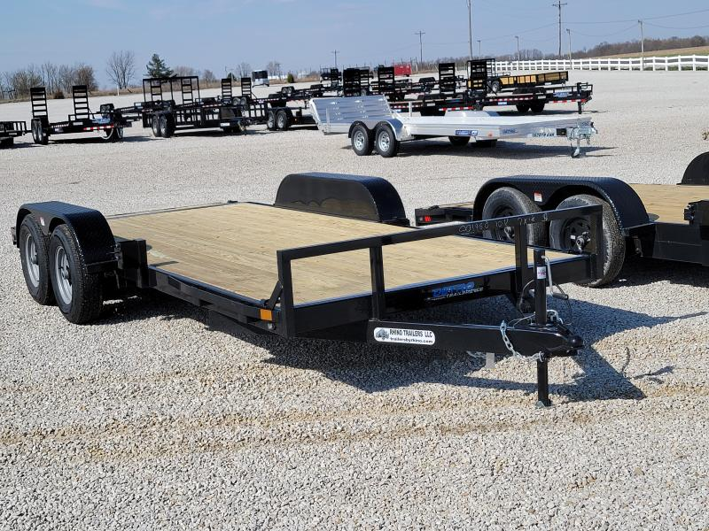 2021 Rhino Trailers 7X18 Open Car Hauler Car / Racing Trailer