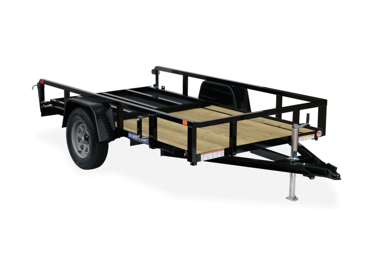 2021 Sure-Trac 6x12 Angle Iron Utility Trailer  3K Idler