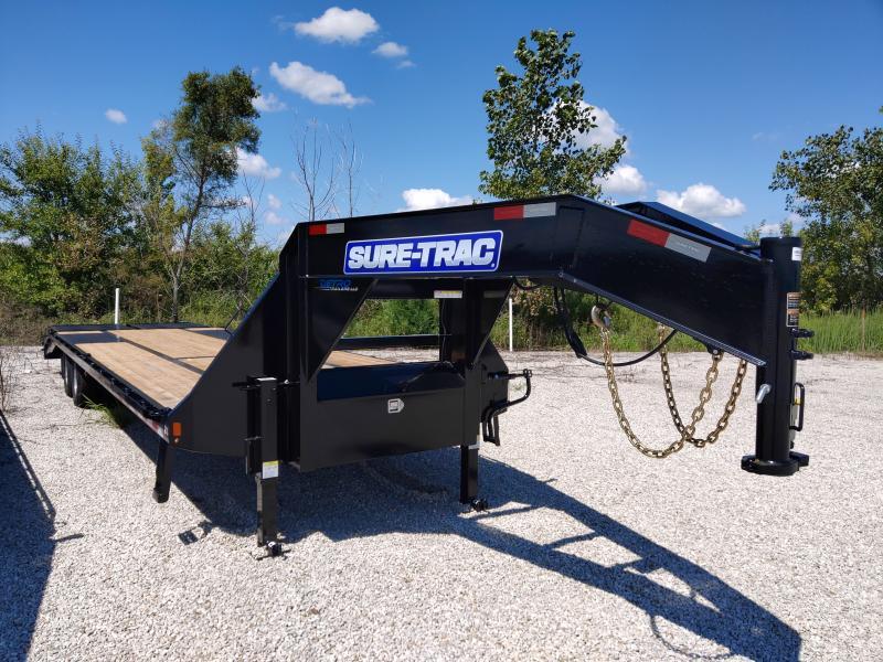 2021 Sure-Trac 8.5x25+5 Deckover Dual Tandem GN 22.5K