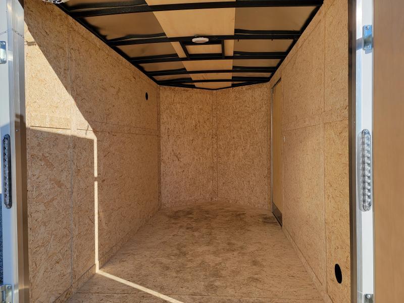 2021 Rhino 6x10 Double Rear Door Enclosed Trailer