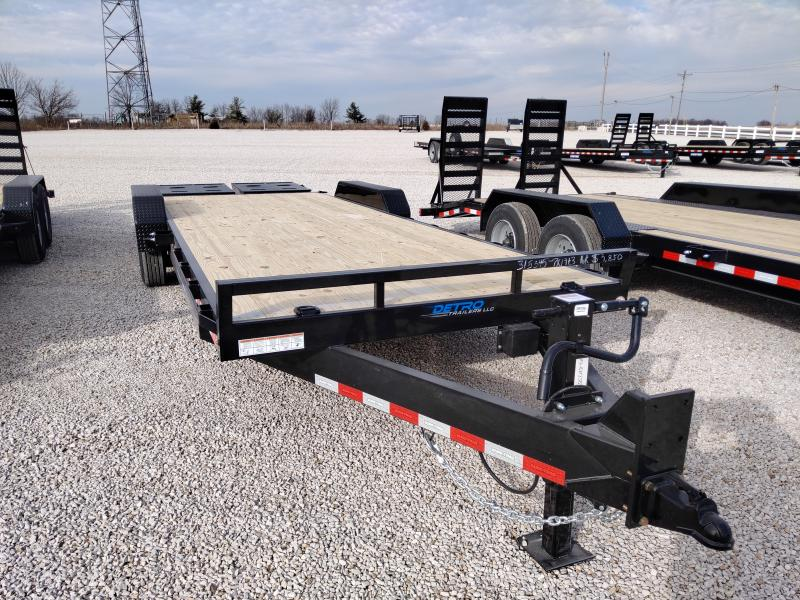 2021 Sure-Trac 7x19+3 Universal Ramp 16K Equipment Trailer