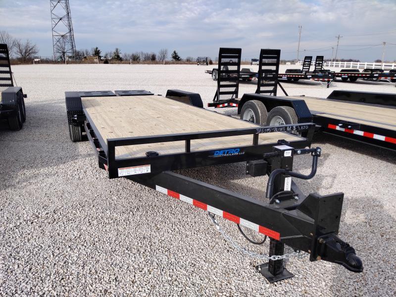 2021 Sure-Trac 7x19+3 Universal Ramp 16K Equipment Trailer