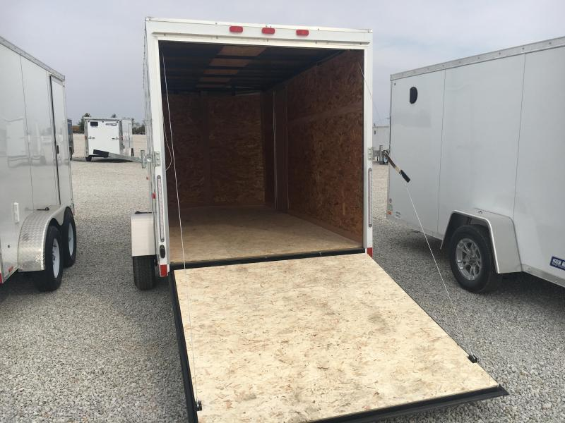2021 Cargo Express EXE 6x12 Enclosed DRD Trailer