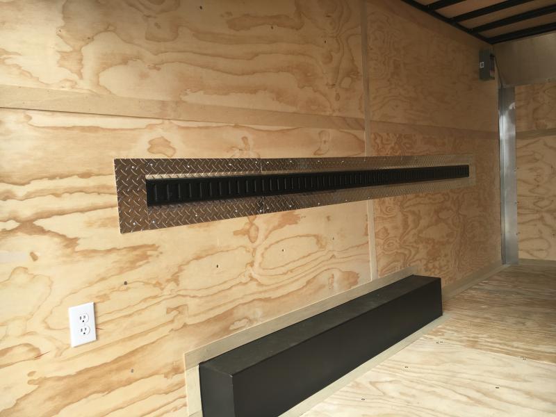 2021 United Tool Crib 8.5x16 Double Rear Door Enclosed Trailer