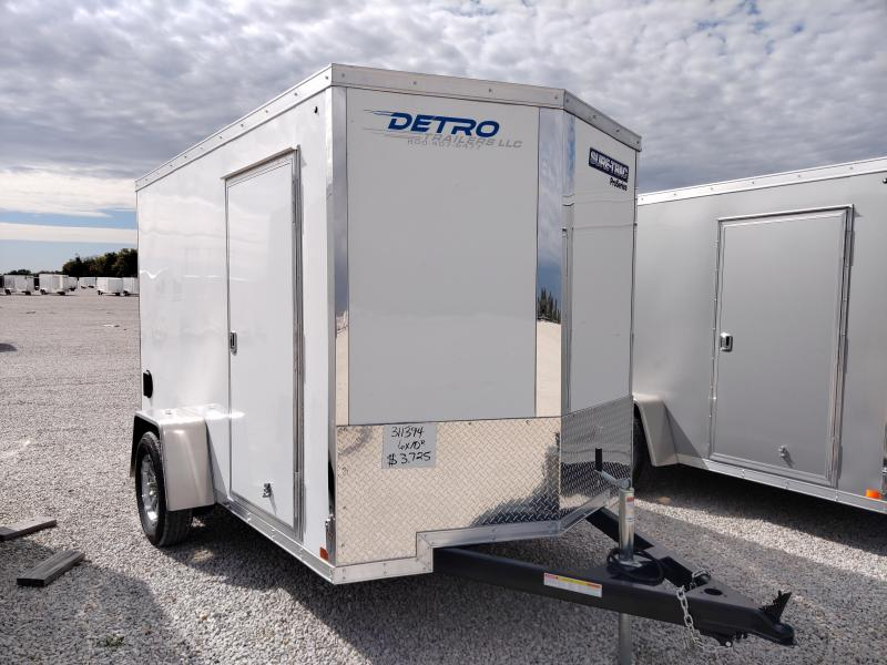 2021 Sure-Trac 6x10 Pro Series Enclosed Wedge Ramp Door Trailer