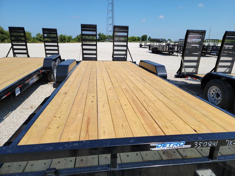 2021 Sure-Trac 7x20 Flat Deck 14K Equipment Trailer