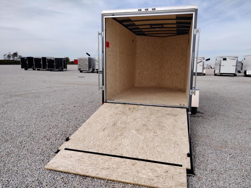 2021 Rhino Trailers 7X12 SAFARI Enclosed Ramp Door 3K Trailer