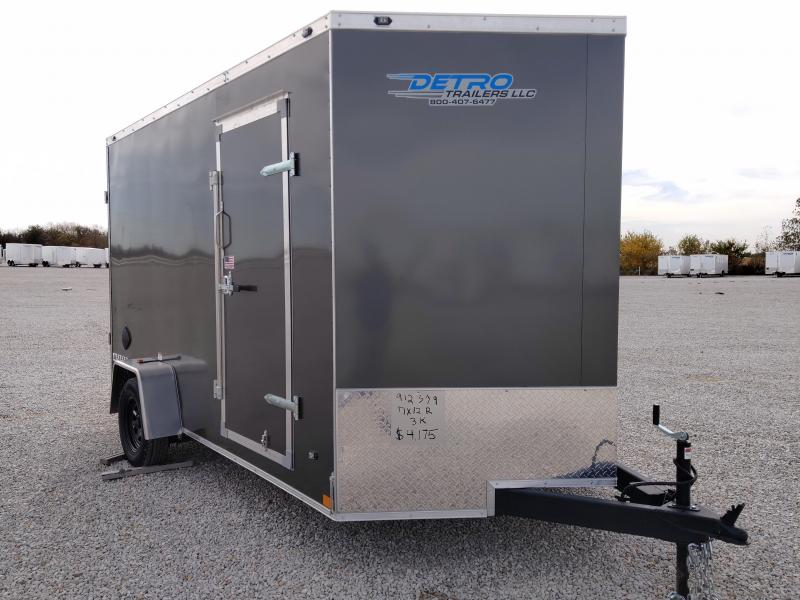 2021 Rhino Trailers 7X12 SAFARI Enclosed Ramp Door 3K Trailer