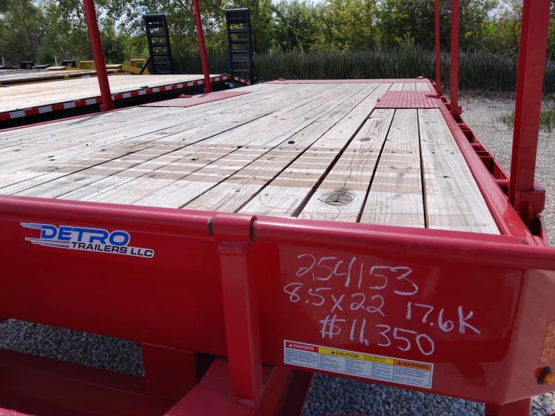 2019 Sure-Trac RED 102X22 Deckover 17.6K TILT Equipment Trailer Factory Demo