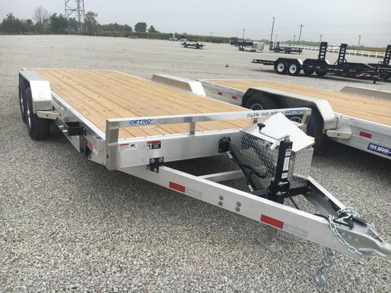 2021 Sure-Trac 82X20 Aluminum 10K Equipment Trailer