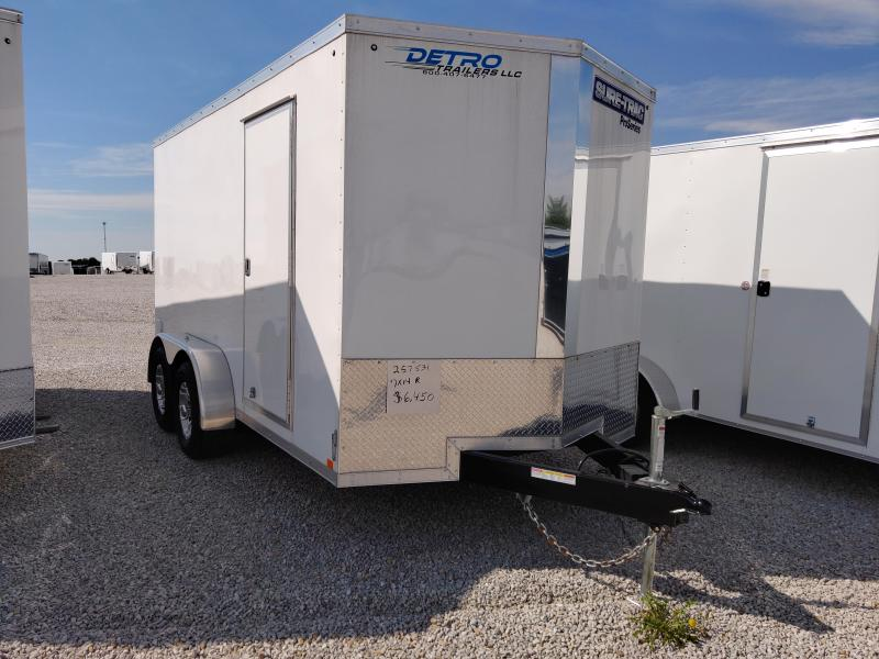 2019 Sure-Trac 7x14 Pro Series Enclosed Ramp Door TA 10K