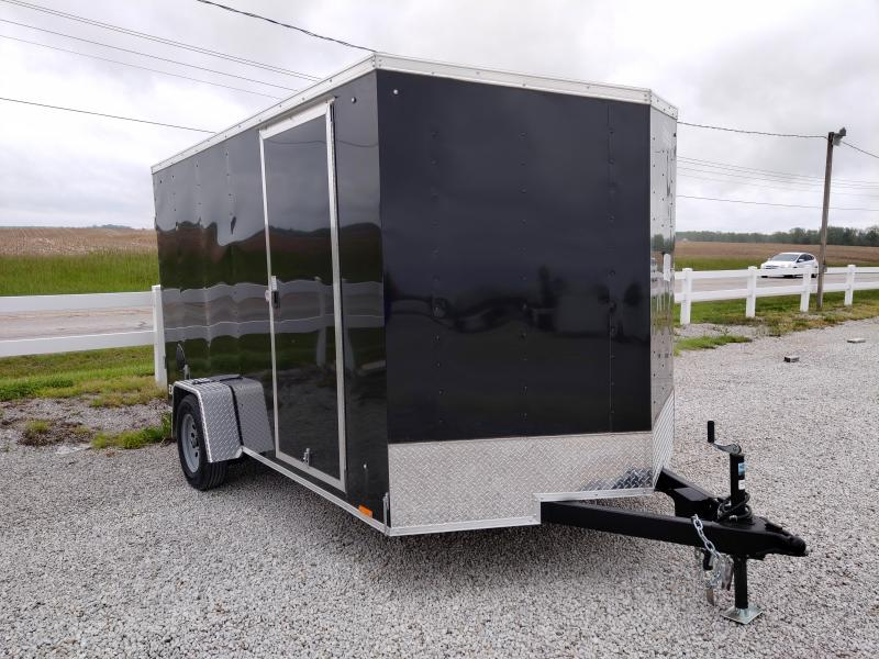 2021 Cargo Express 7X12 Enclosed DRD SA Trailer