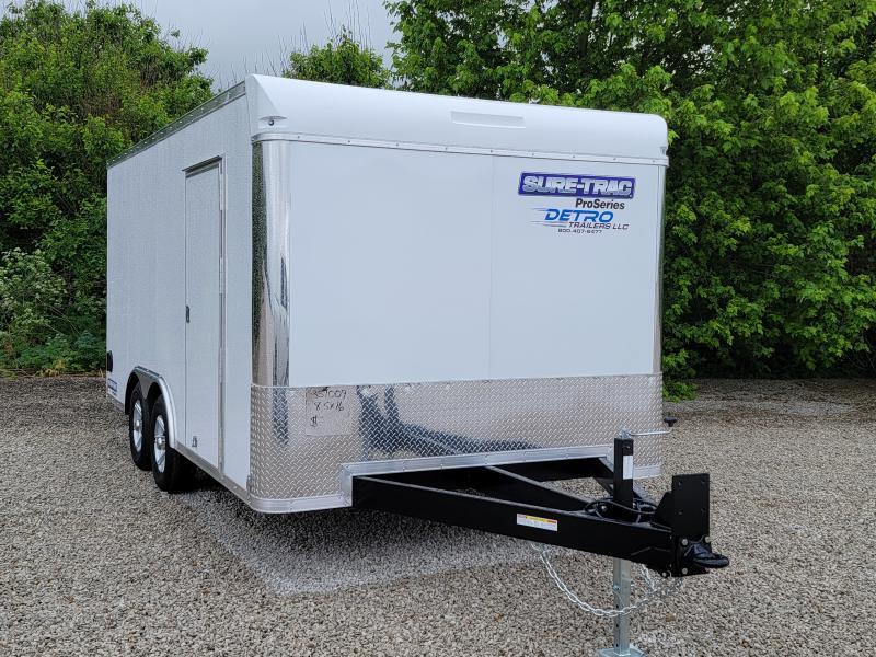PENDING SALE - 2021 Sure-Trac 8.5x16 Rear Ramp Door 10K Car Trailer