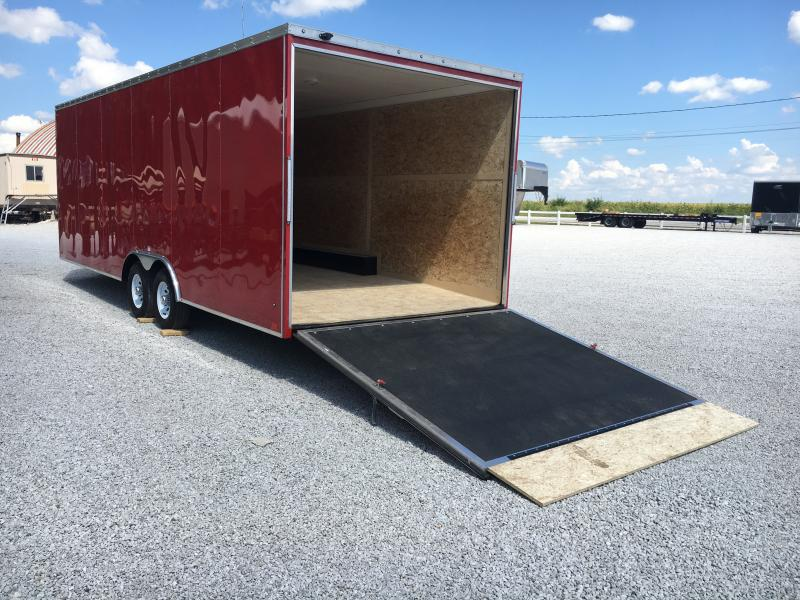 SPECIAL ORDER ONLY -- Discovery Trailers 8.5X24 Enclosed Airplane Hauler