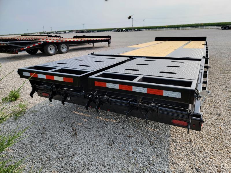 2021 Sure-Trac 8.5x20+5 Heavy Duty 22.5K Low Profile Beavertail Deckover