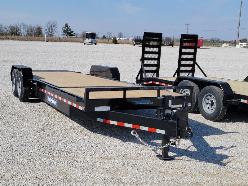 2021 Sure-Trac 7 x 18+6 Tilt Bed Equipment Trailer  16K