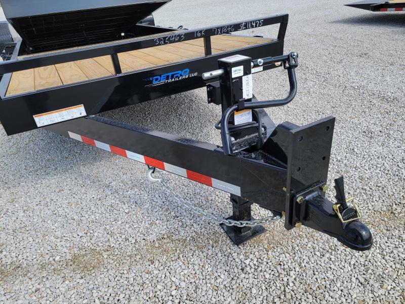 2021 Sure-Trac 7 x 18+6 Tilt Bed Equipment Trailer  16K