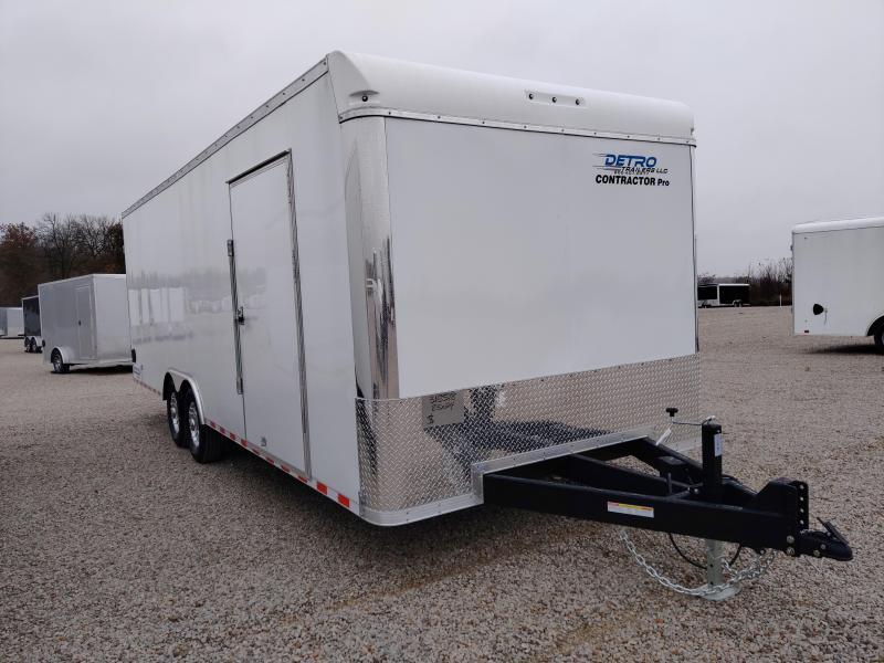 2021 Sure-Trac 8.5x24 Contractor Pro Enclosed DRD Trailer