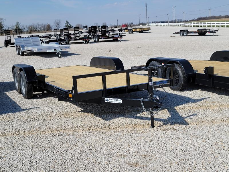 2021 Rhino Trailers 7X18 Open 7K Car Trailer