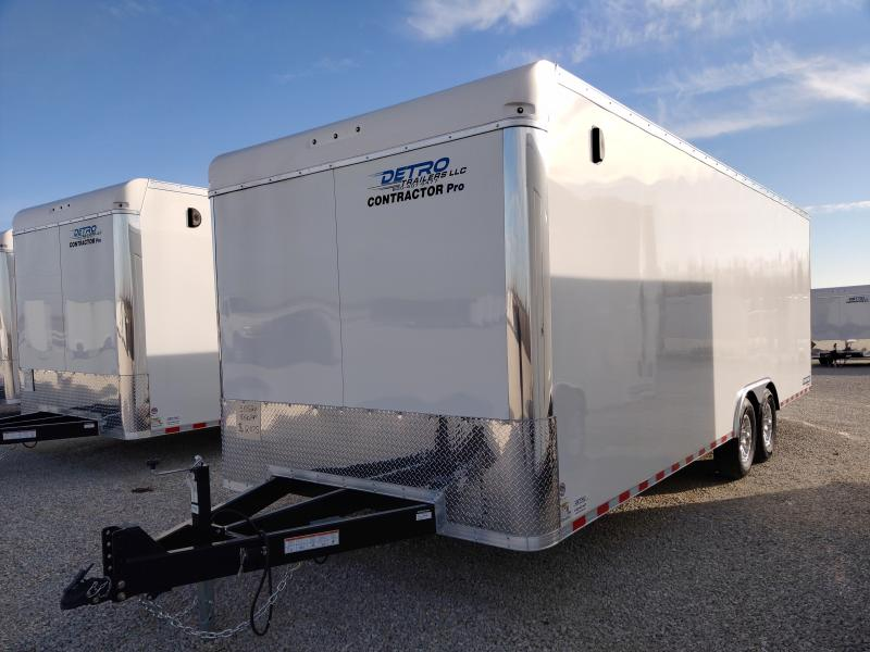 2021 Sure-Trac 8.5x24 Contractor Pro Ramp Door Enclosed Trailer