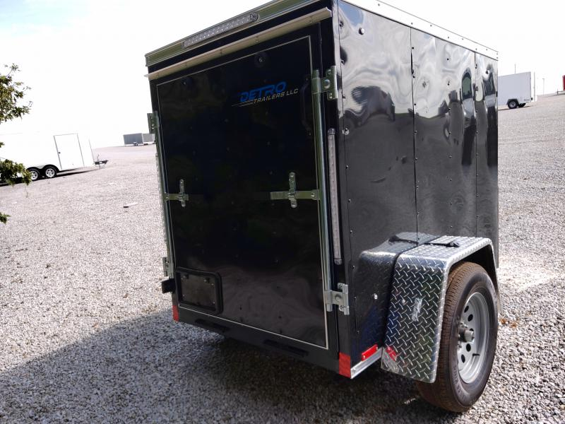 2021 Cargo Express 4X6 Ramp Door 3K Enclosed Trailer