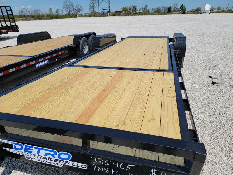 2021 Sure-Trac 7x24(18+6) Tilt Bed 16K Equipment Trailer