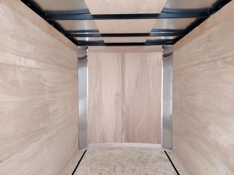 2021 United 5X8 Enclosed Ramp Door Trailer