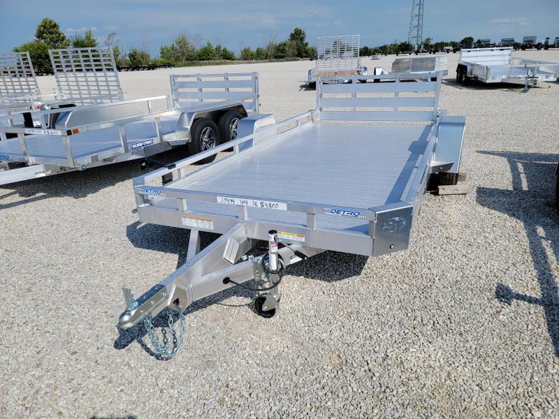 2021 Sure-Trac 7x14 3K Aluminum Low Side Utility Trailer
