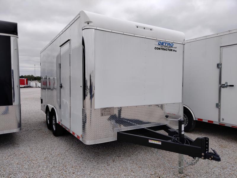 2020 Sure-Trac 8.5x16 Contractor Pro BN Cargo TA 14K DRD Trailer