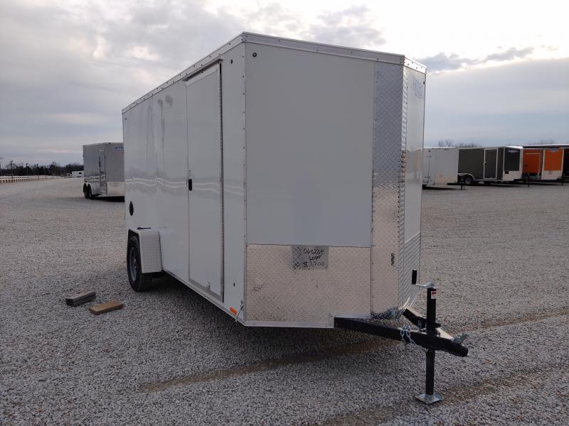 2021 Cargo Express 6x14 SA Ramp Door Enclosed Trailer