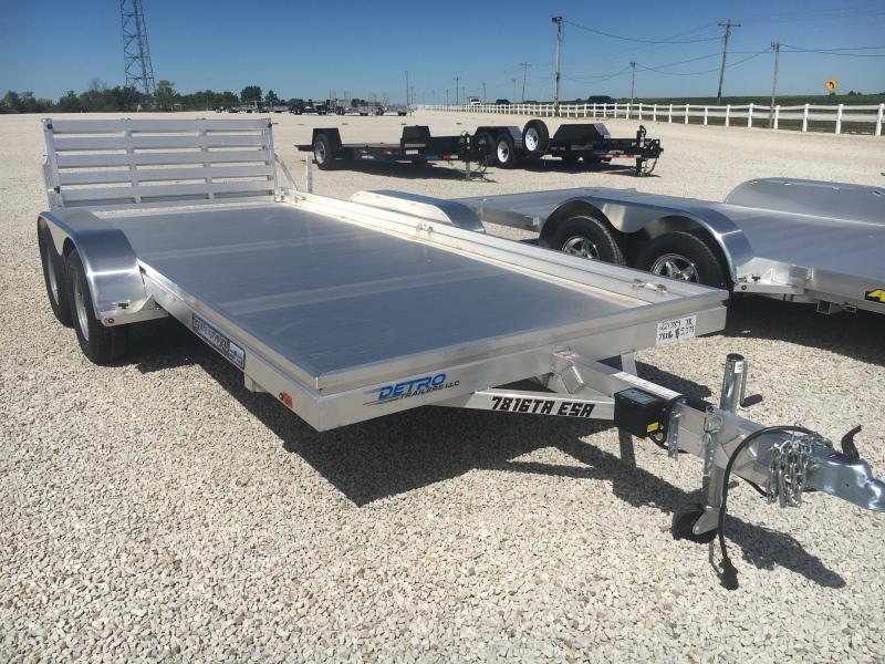 2021 Aluma 78X16 7K Utility Trailer