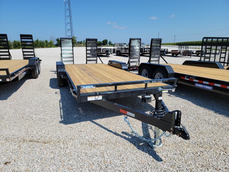 2021 Sure-Trac 7x20(18+2) 10K Equipment Trailer