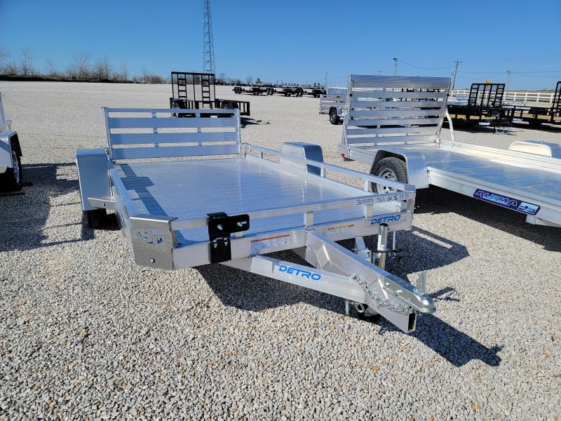 2021 Sure-Trac 7x12 Aluminum Deck 3K Utility Trailer
