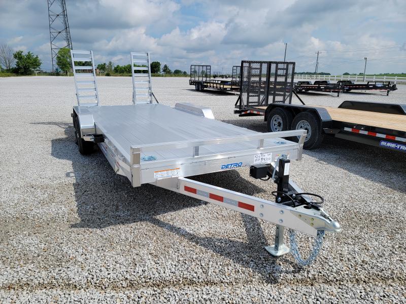 2021 Sure-Trac 7x20(18+2) Aluminum Implement Flatbed Trailer