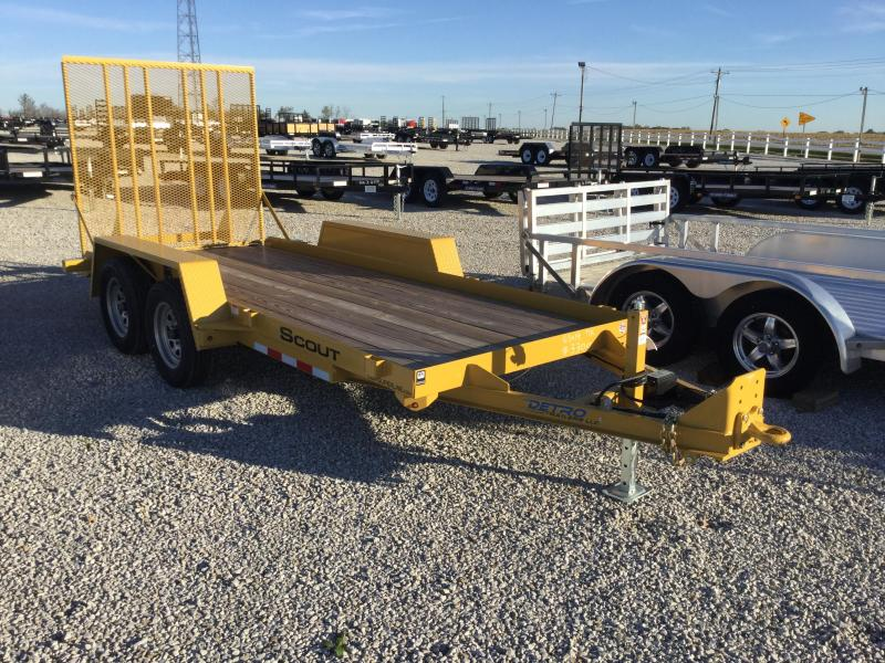 2017 Cam Superline 3 Ton Utility Equipment Hauler Scout Equipment Trailer