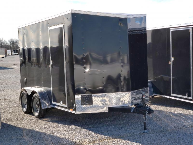 2021 Cargo Express 7x12 7K Enclosed Trailer