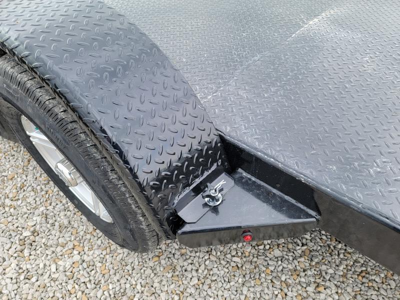 2021 Sure-Trac 7x20(16+4) Steel Deck 10K Car Hauler