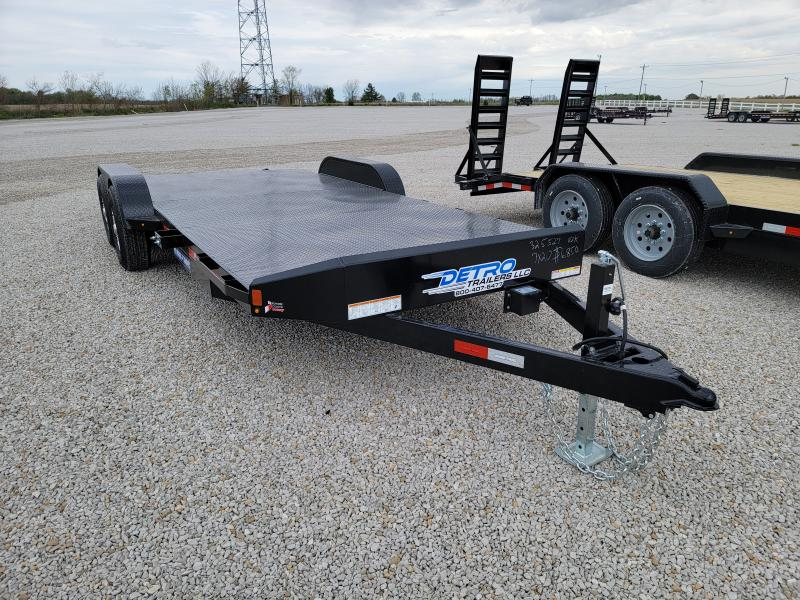 2021 Sure-Trac 7x20(16+4) Steel Deck 10K Car Hauler
