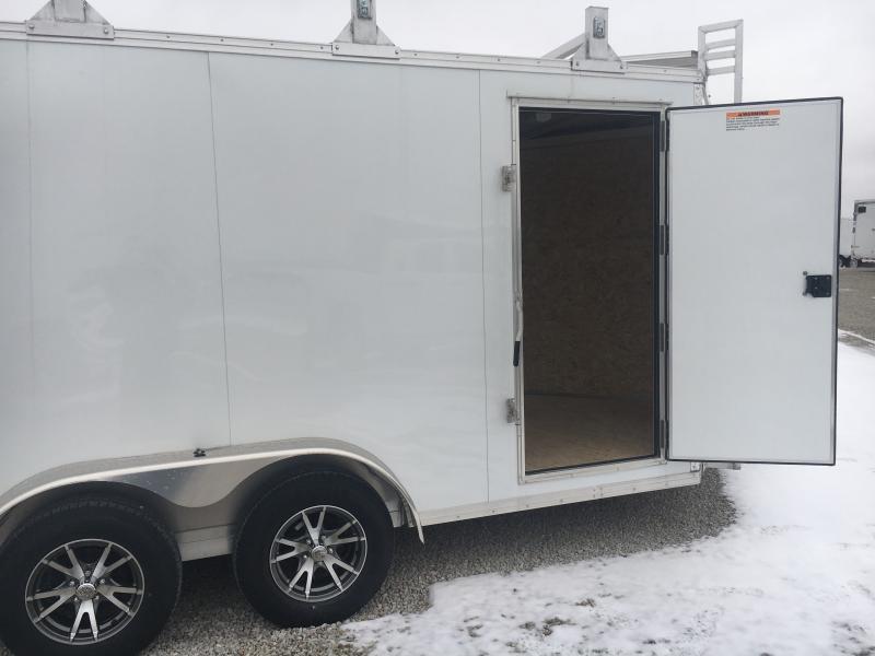 PENDING SALE - 2019 EZ Hauler 7X14 Enclosed Aluminum Tool Crib Trailer