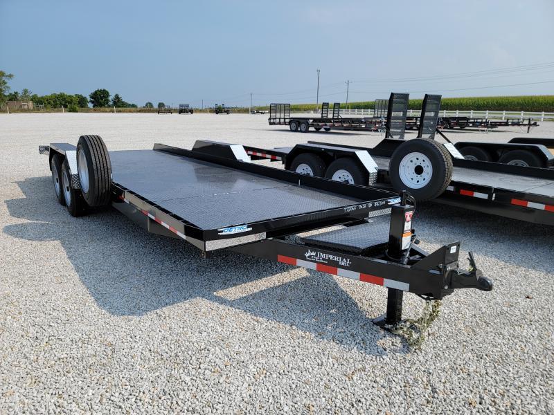 2022 Imperial 22' 18K Tilt Bed Equipment Trailer