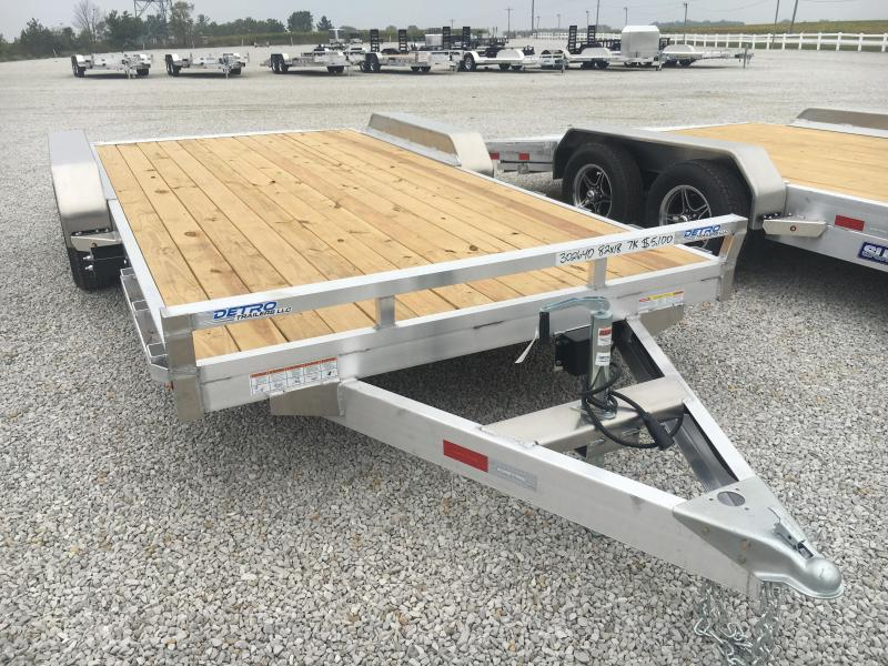 2021 Sure-Trac 7X18 Aluminum C-Channel Car Hauler 7K