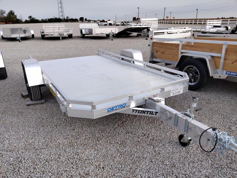 2021 Aluma 77x12 H-TILT Utility Trailer