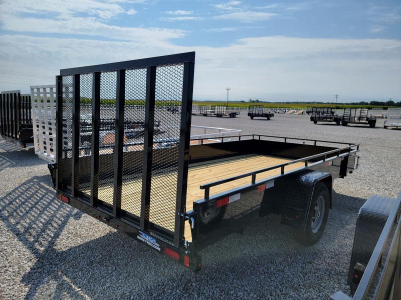 2022 Sure-Trac 7x14 Steel 5K High Side Trailer w/ Brakes